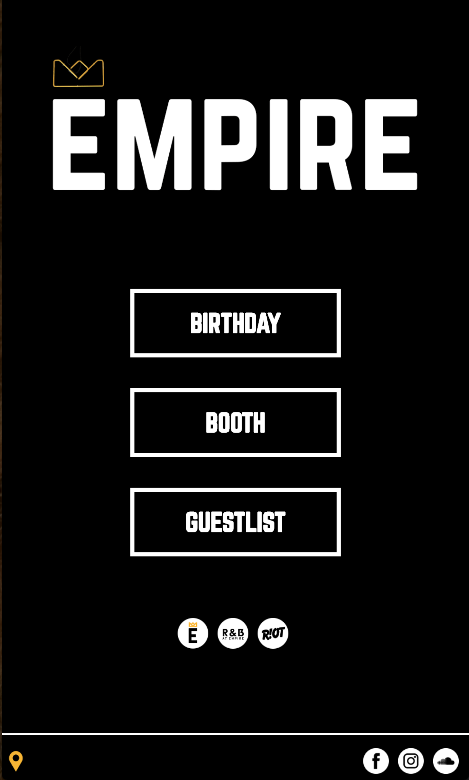 Empire Mobile Website Project Card