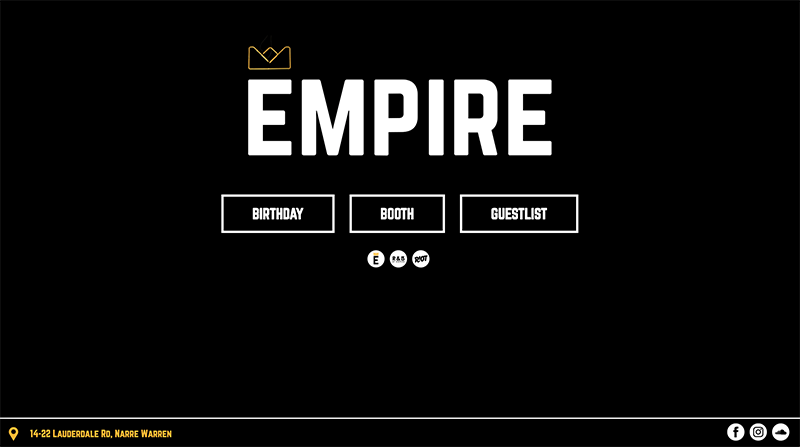Empire Website Project Card